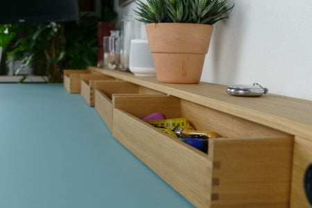 Organizer: Building the Drawers