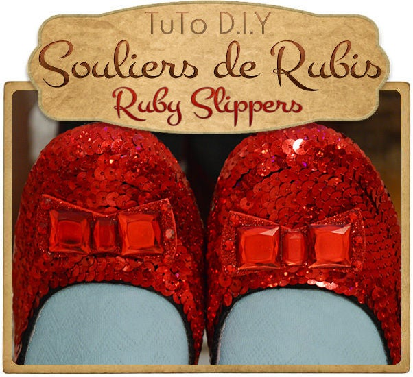 Picture of { RUBY SLIPPERS }