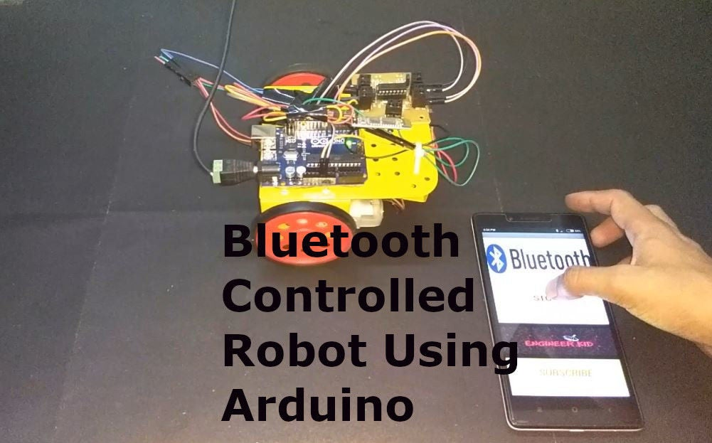 Picture of Diy Bluetooth Controlled Robot & Android App