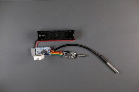 Assembling the Node - Temperature Sensors