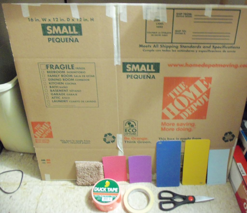 Picture of Supplies (mostly From Home Depot)