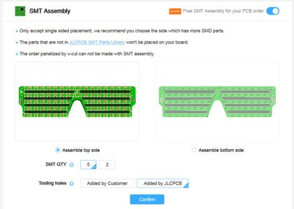 Ordering the Shades PCB Part 2