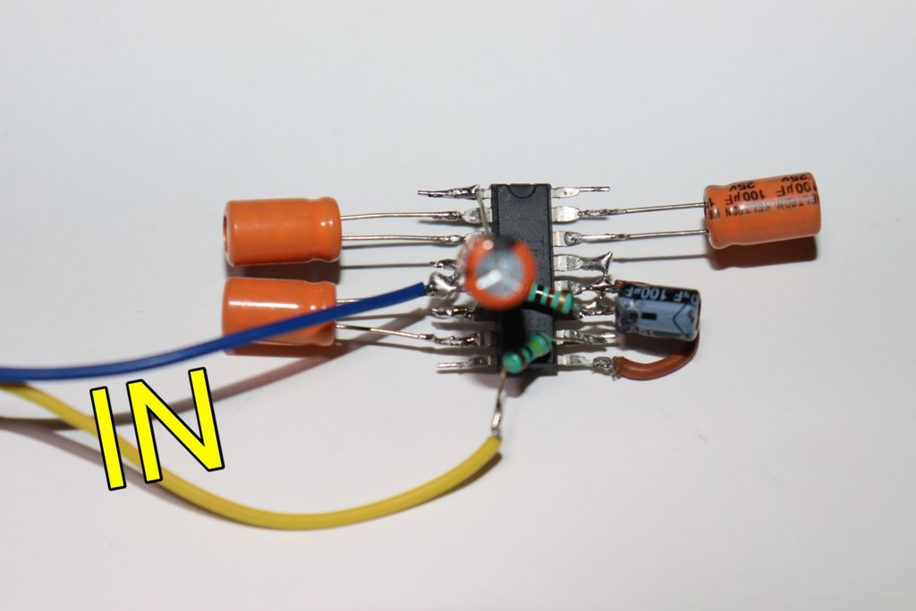 Picture of Connect Audio Input Wires