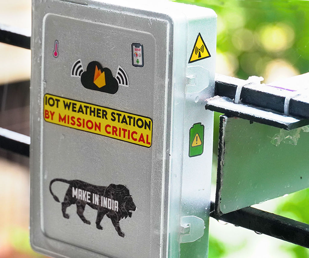 Iot Weather Station Using Firebase and MIT App Inventor