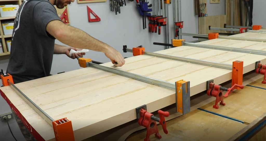 Picture of The Glue Up!