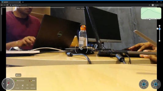 Viewing Live Video Stream on Remote Station