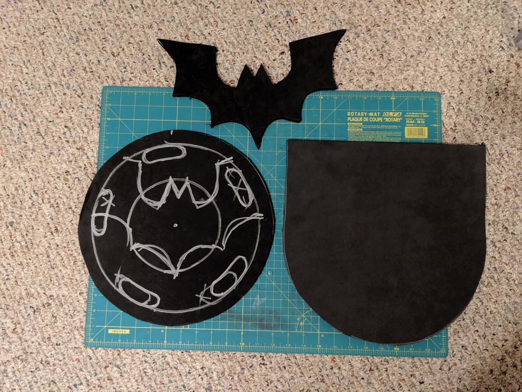 Picture of Chest-piece: Foam Work