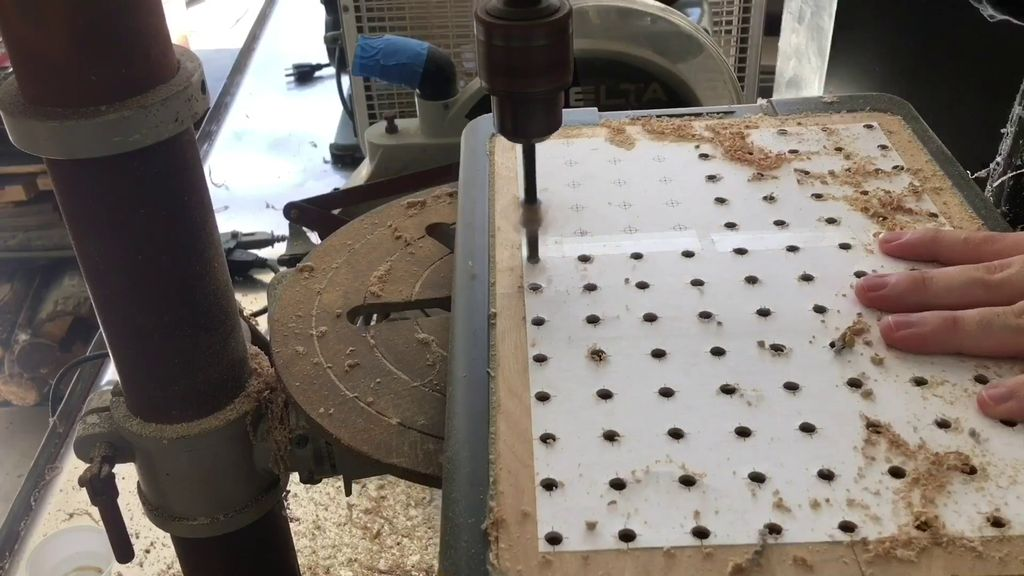 Picture of Drilling All the Holes