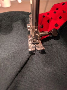 Sew the Insert and Skirt Together