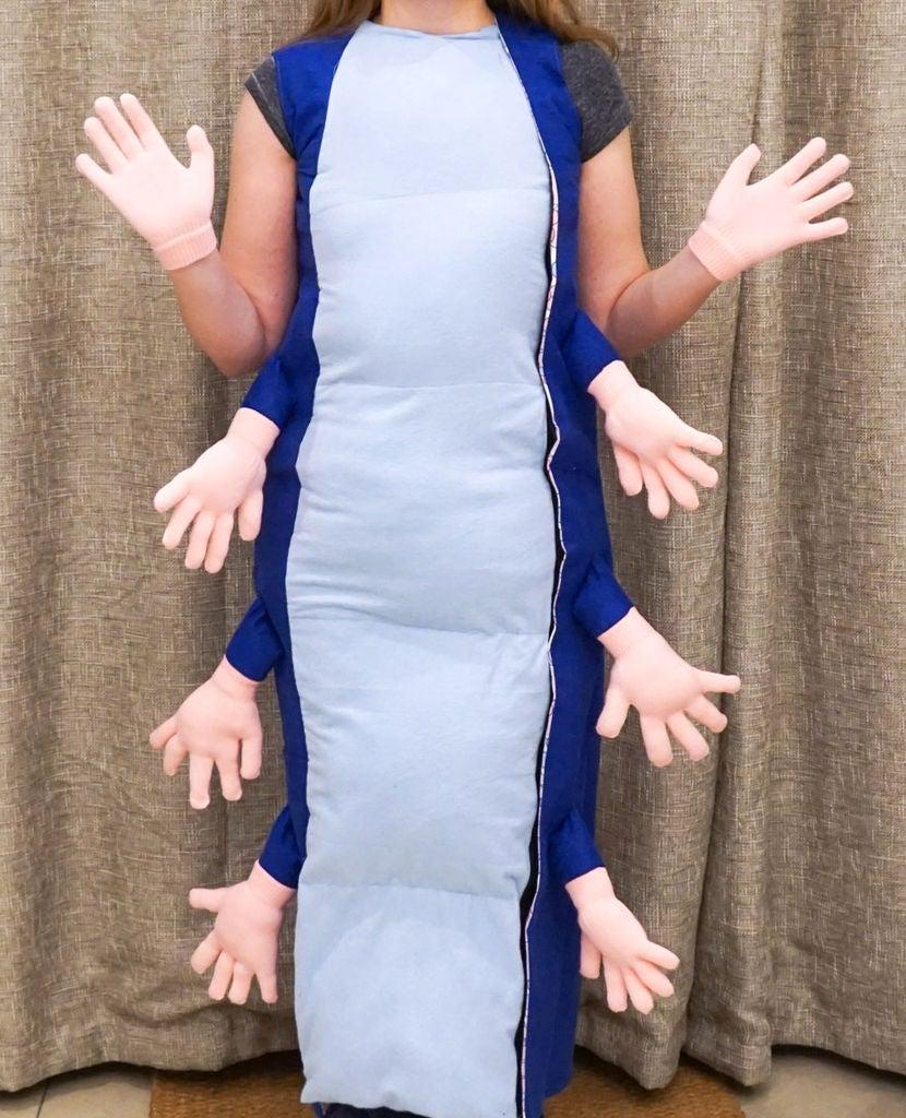 "Picture of DIY ""Absolem"" Caterpillar Costume | Alice in Wonderland Fancy Dress"