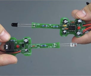 Build Your Own IR Sound, Voice Transmitter