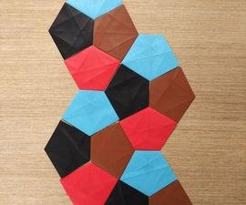 Origami Cairo Pentagon Tile