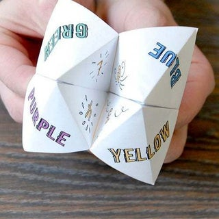 Make an Origami Fortune Teller - YouTube | 320x320