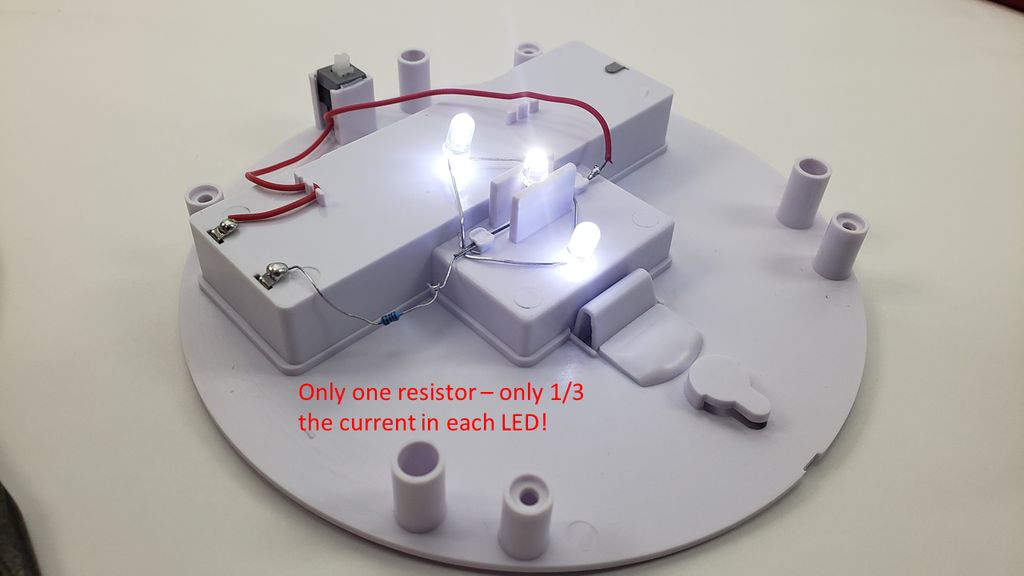 Picture of Adding More LEDs in Parallel