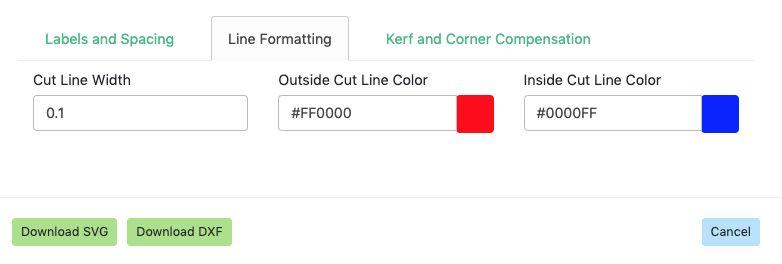Adjust Line Formatting