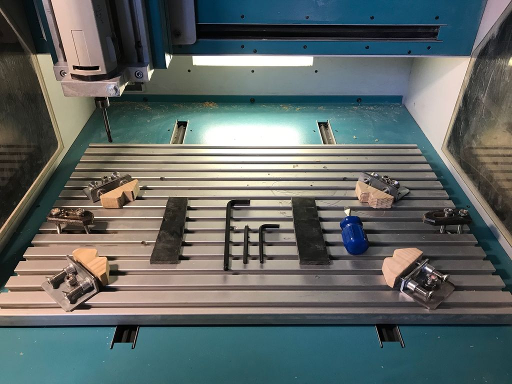 Picture of 360 CNC Clamps (aka Bit Savers)
