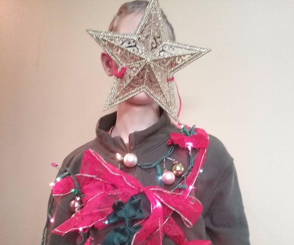 """fashionable"" Festive Holiday Sweater"