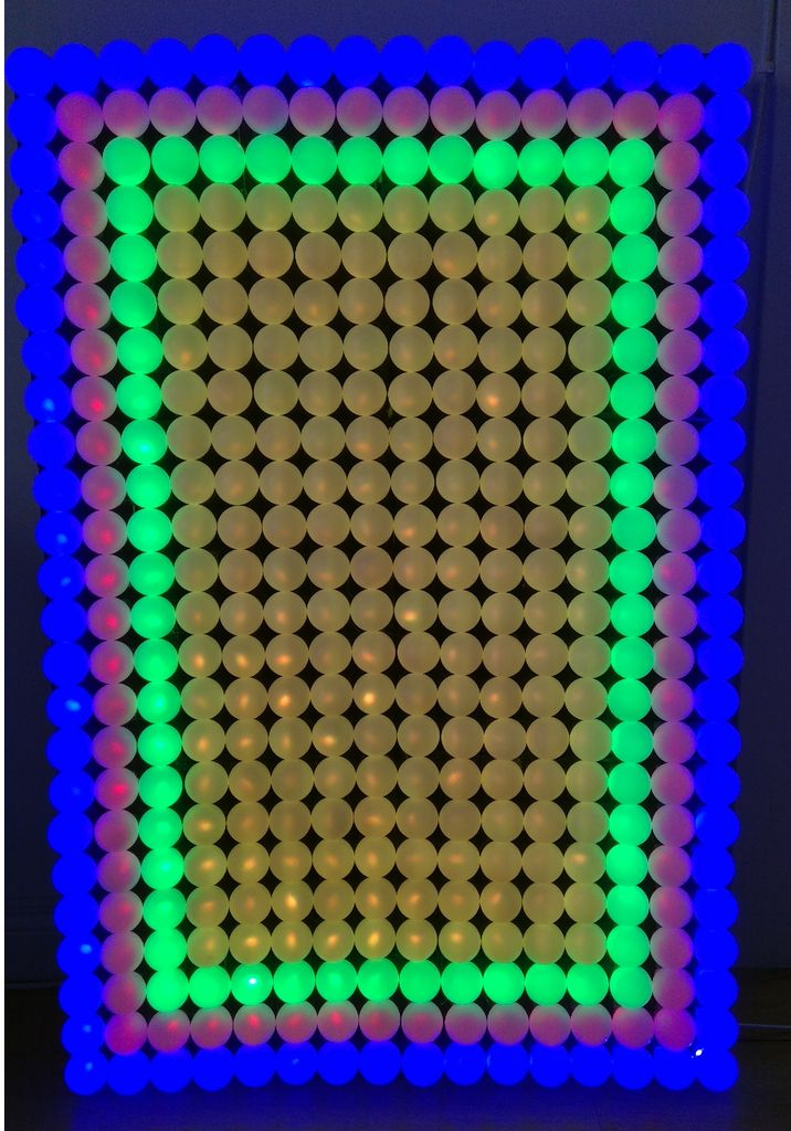 Picture of 3D Printed Modular LED Wall