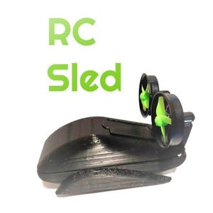 Mini RC Airsled
