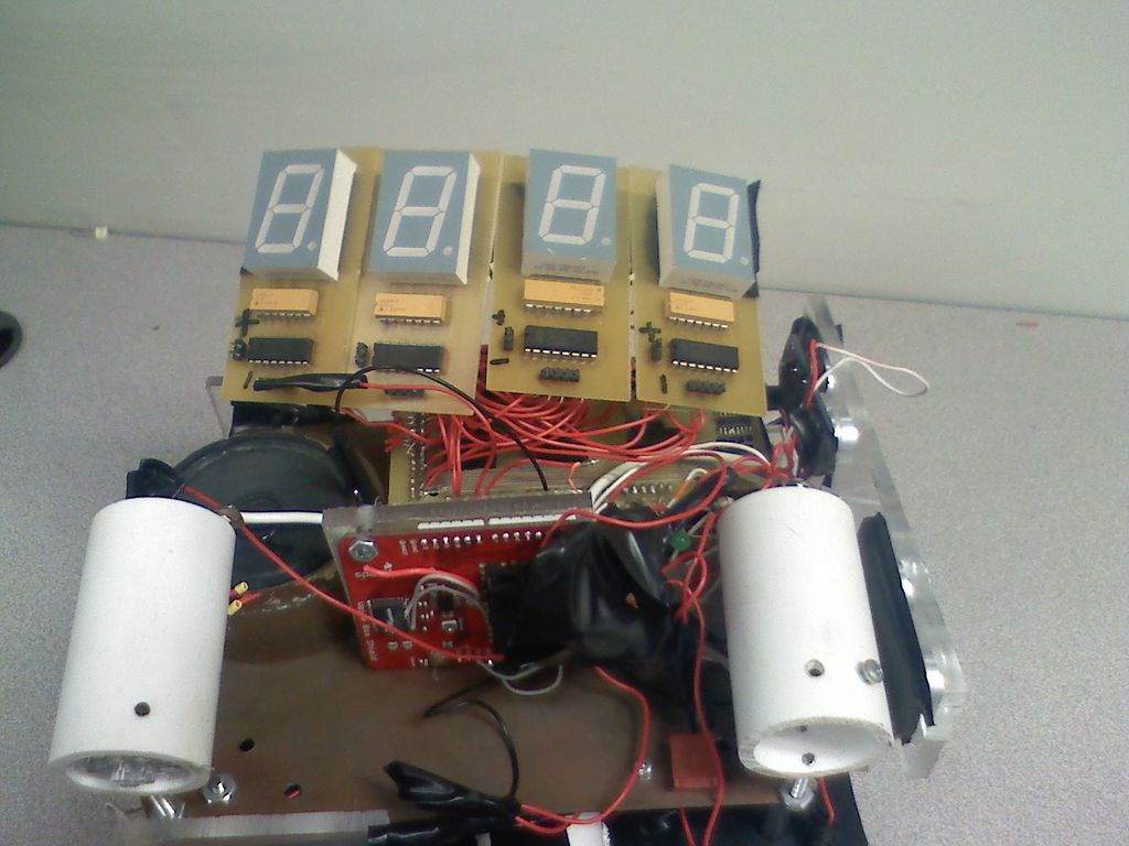 Picture of Autonomus Wall Following Obstacle Avoiding Arduino Rescue Bot