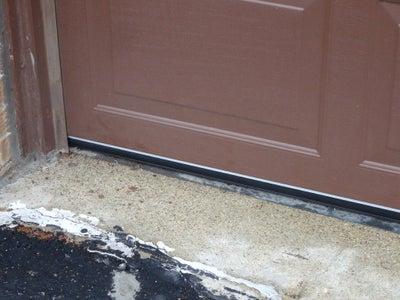 How to Install Garage Door Replacement Seal.