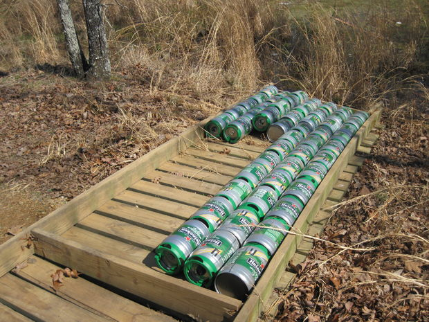 boat dock design ideas how to build a floating dock using heineken mini kegs