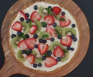 夏季甜品披萨
