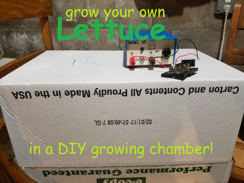Picture of DIY Growing Chamber