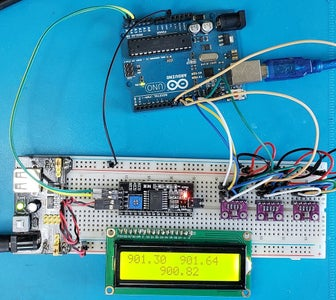 Multiples BMP280 Sensors in Arduino Uno Via SPI