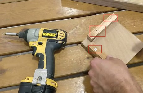Preparing the Top Wooden Board - Step 2