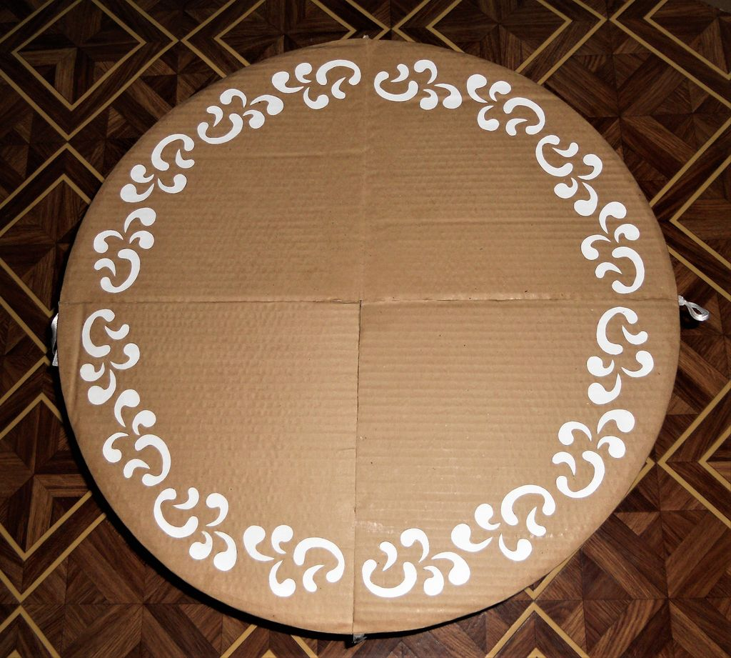 Picture of Install Your Cardboard Chair, Table