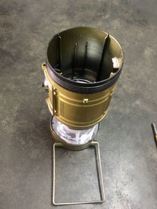 DISCONNECT LOWER LIGHT COMPARTMENT COMPONENTS