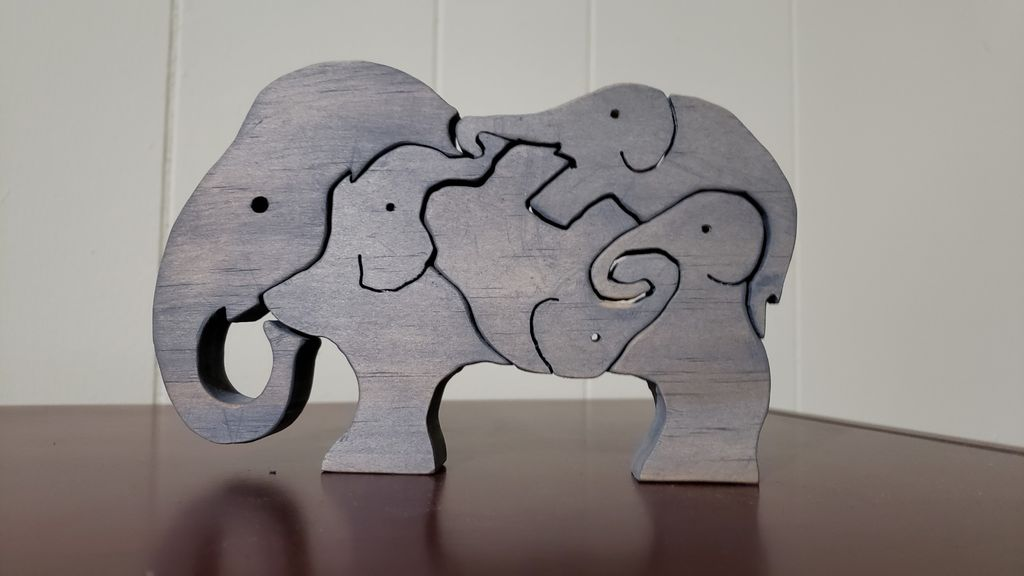 Picture of Children's Scroll Saw Puzzle
