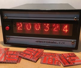 Versatile I/O Extender PCB to Control Many Nixie Tubes With I2C