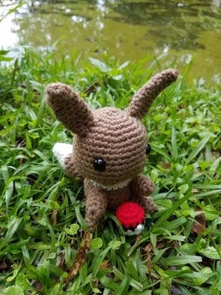 Amigurumi - Sabrina Somers Collections - Eevee (Pokemon) - Free ...   427x320
