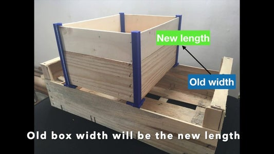 Measuring/Cutting: the Sides of the Box