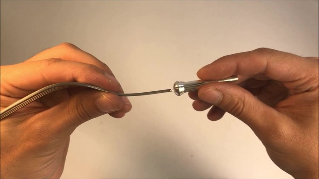 Picture of Prepare Exacto Knife to Fit the Cutlery