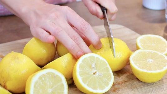 Roll and Cut Lemons