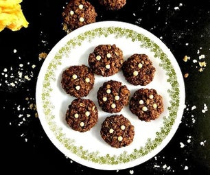 Chocolate Muesli/Oats Cookies