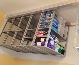 Hang-n-Roll Space-saver Shelving