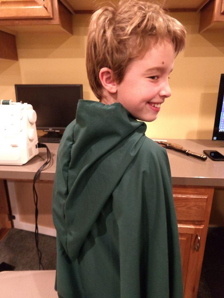 Picture of Sewing an Elvin Cloak