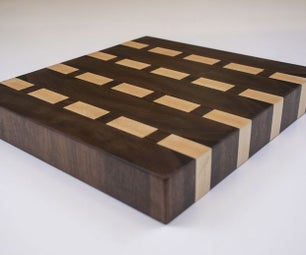 End Grain Butcher Block Cutting Board!