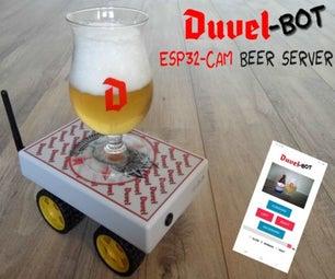 DuvelBot  -  ESP32-CAM啤酒服务机器人