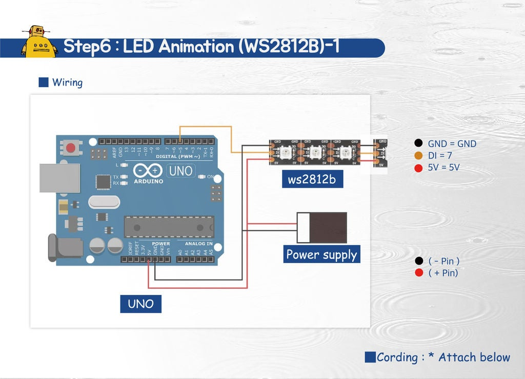 Picture of LED Animation (WS2812B) - 1
