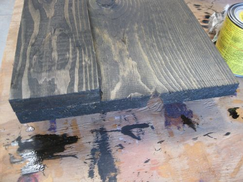 Picture of Staining and Cutting the Rounds