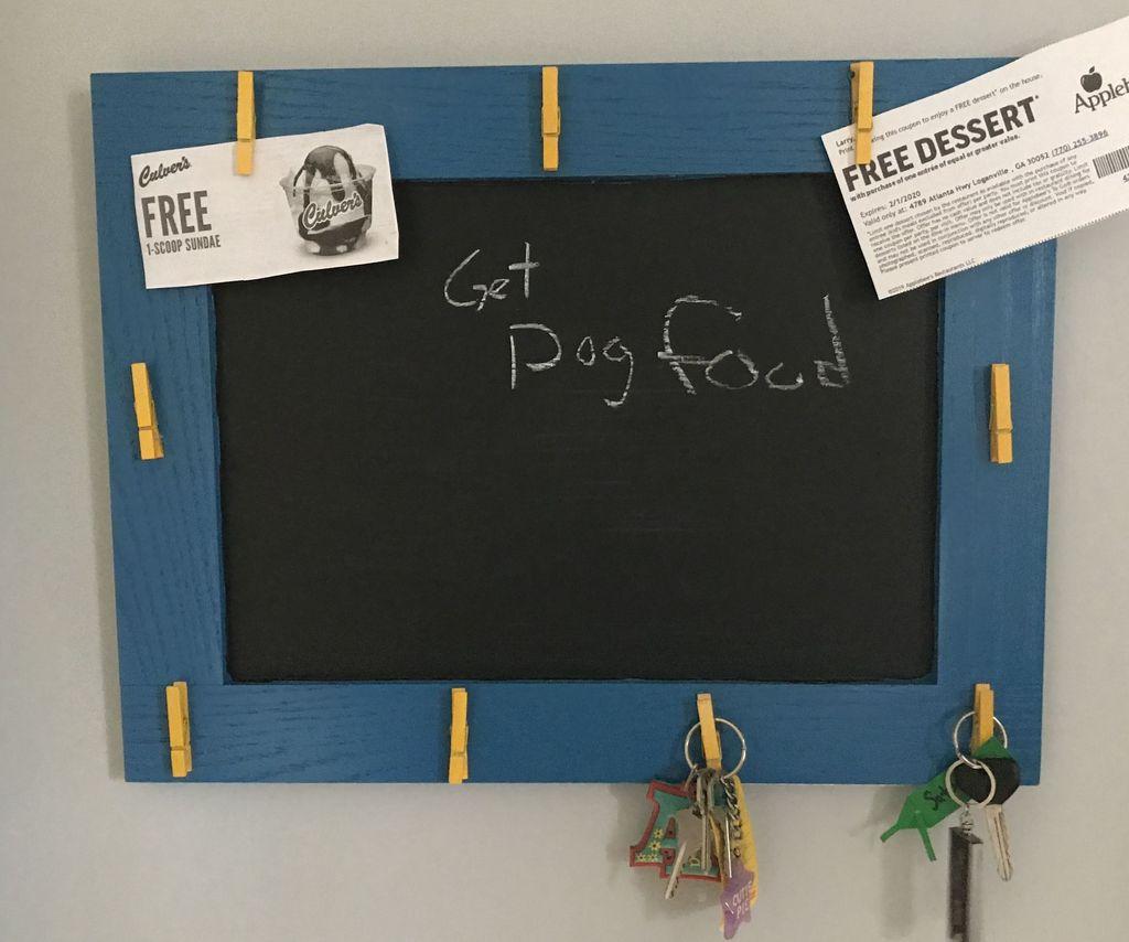 Easy DIY Message Board
