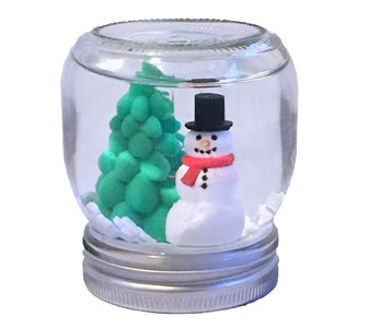Assemble the Snowglobe