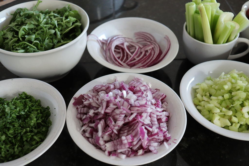 Picture of Chop Ingredients for Multiple Dishes