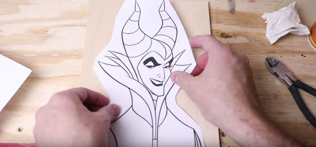 Picture of Cutting Maleficent