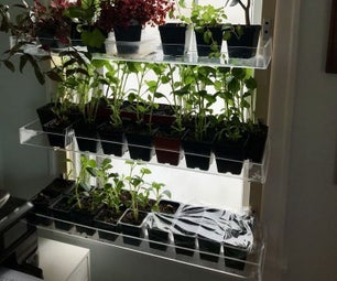 Convertible Seedling Nursery With Removable Trays